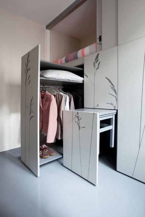 Những căn hộ khép kín dưới 16 m2