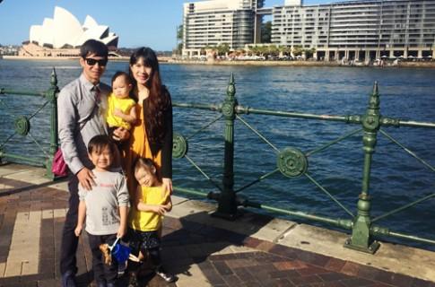 Những chuyến du lịch sang chảnh 'phát thèm' của con sao Việt
