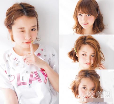 Những kiểu cực xinh dành cho nàng tóc chớm ngang vai