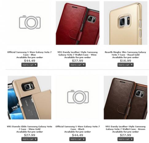 Những phụ kiện có thể phát hành kèm Galaxy Note 7
