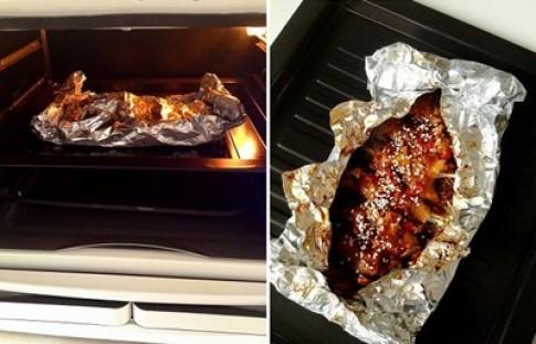 Nướng đồ ăn bằng giấy bạc: Cơ thể nhanh lão hóa?