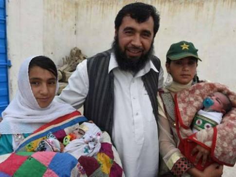 Ông bố 35 con quyết tâm cưới thêm vợ để có đủ 100 con