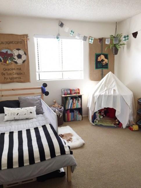 Phòng của bé một tuổi do bố mẹ trang trí