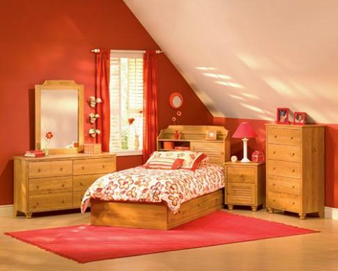 Phòng ngủ cho bé yêu rực rỡ bảy sắc cầu vồng