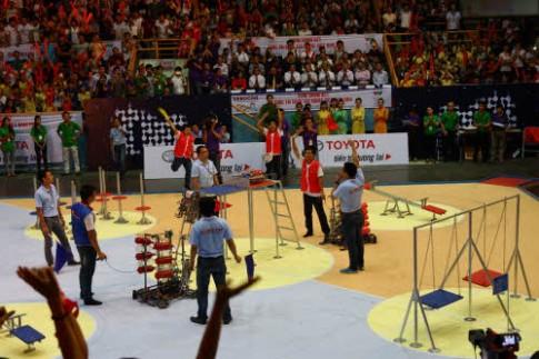Robocon Việt Nam 2014 đã tìm ra nhà vô địch