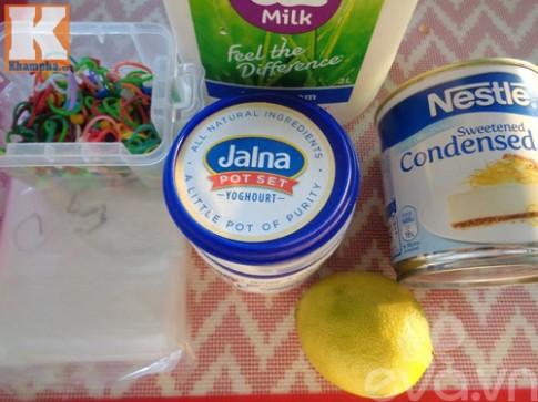 Sữa chua túi mút mát lạnh ngày hè