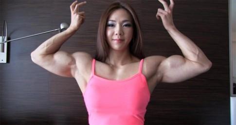 Thân hình lực lưỡng của mỹ nhân cơ bắp đẹp nhất xứ Hàn