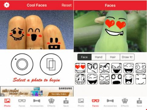 Thêm cảm xúc cho những bức ảnh trên iOS