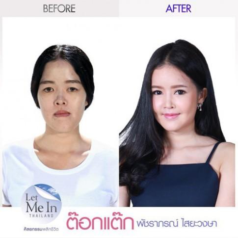 Thiếu nữ Thái rũ bỏ vẻ già nua thành mỹ nữ xinh như hoa