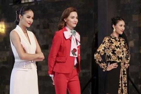 Thời trang lên sóng của bộ 3 giám khảo The Face
