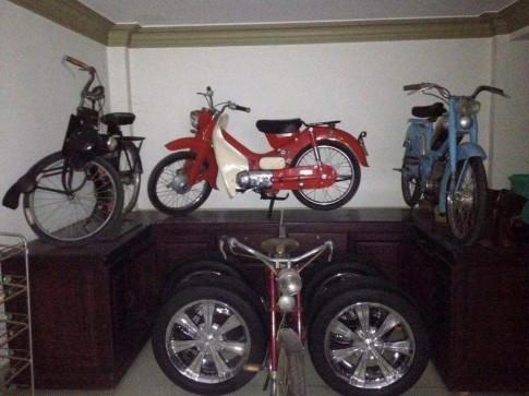 Thú vui sưu tầm xe cổ của một biker Q7