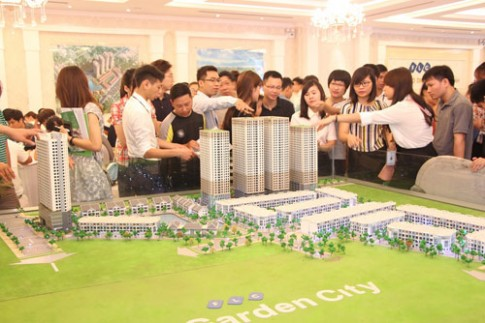 Tòa tháp đôi HH3 FLC Graden City chính thức ra mắt khách hàng.