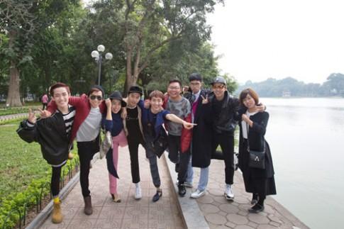 Top 9 Project Runway ra Hà Nội đón không khí lạnh