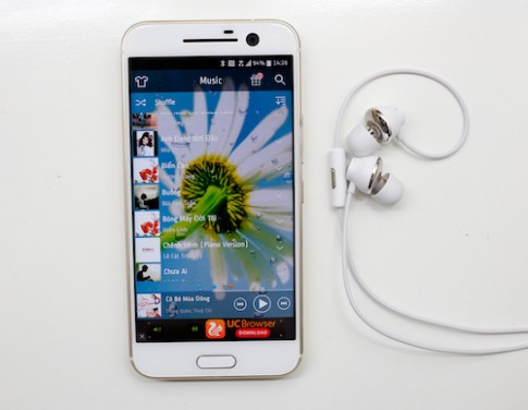 Trải nghiệm âm thanh trên HTC 10