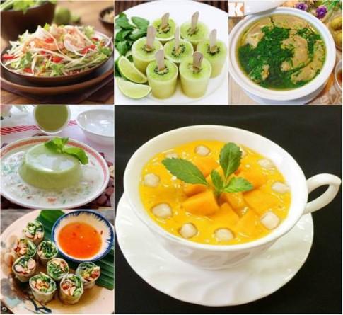 Trổ tài vào bếp làm những món ăn giải nhiệt mùa hè