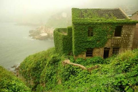 Trung Quốc: Đã mắt ngắm nhà xinh ở đảo tiên trên biển