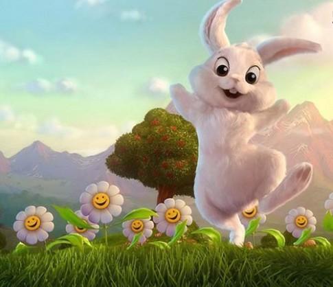 Truyện cổ tích: Thỏ con nhận được hoa hướng dương