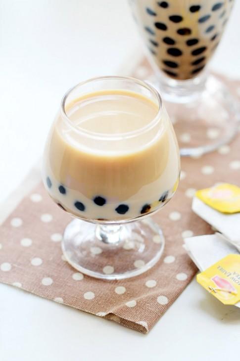 Tự làm trà sữa trân châu tại nhà
