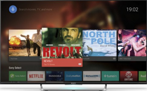 TV 4K của Sony tích hợp ứng dụng xem truyền hình miễn phí