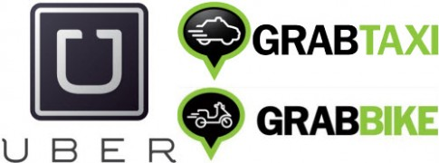 Uber va GrabBike di nguoc xu huong tang gia xang