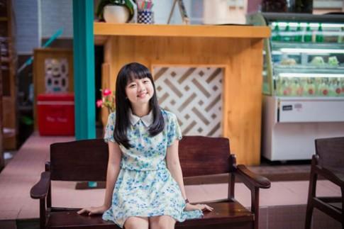 Vẻ đẹp của cô bé hứa hẹn là 'ngọc nữ' điện ảnh Việt