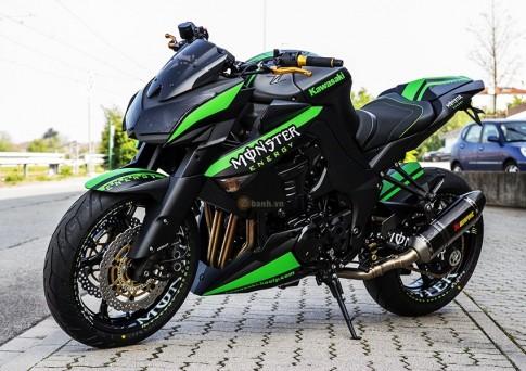 Vẻ ngoài dữ dằn của chiếc Kawasaki Z1000 độ phiên bản Monster