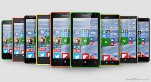 Windows 10 dành cho di động lỗi hẹn mùa hè này