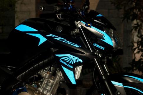 Yamaha Fz150i độ phong cách Thunder Eagle nổi bật và bí ẩn