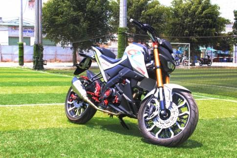 Yamaha M-Slaz độ Full Option Genma tại Việt Nam
