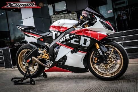 Yamaha R6 đậm chất thể thao với phiên bản độ Tuned
