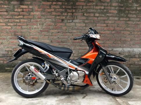 Yamaha Z125 độ nhẹ dàn chân cùng bộ nội công mạnh mẽ
