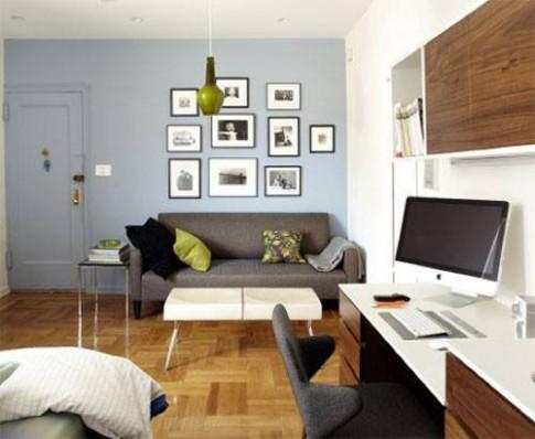 Yêu căn hộ nhỏ hoàn hảo từ cái nhìn đầu tiên