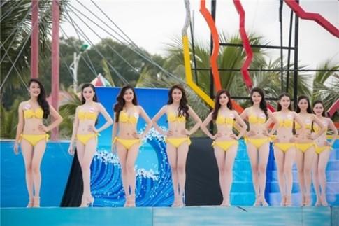 36 thí sinh HHVN 2016 khoe thân hình nóng bỏng với bikini