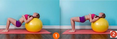 5 bài tập giúp ngực nở, eo thon, mông săn chắc