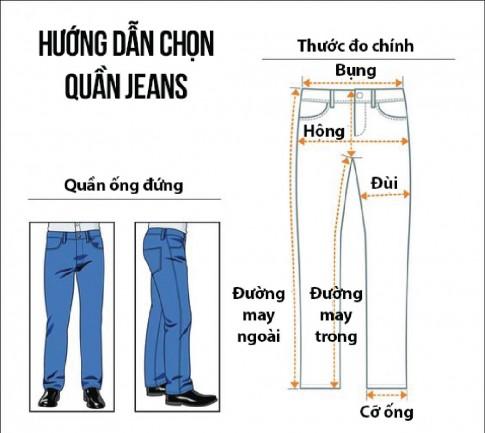 Bí kíp chọn quần jeans phù hợp với vóc dáng