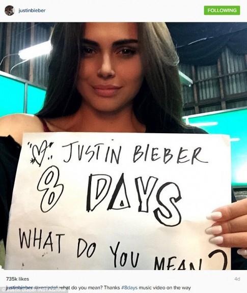 Bồ tin đồn của Justin Bieber lên xe hoa với triệu phú