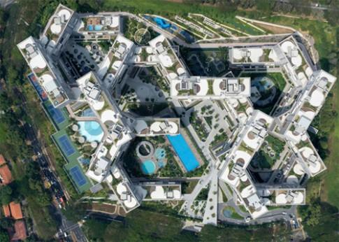 Các chung cư thiết kế đẹp lạ khiến nhiều người mê