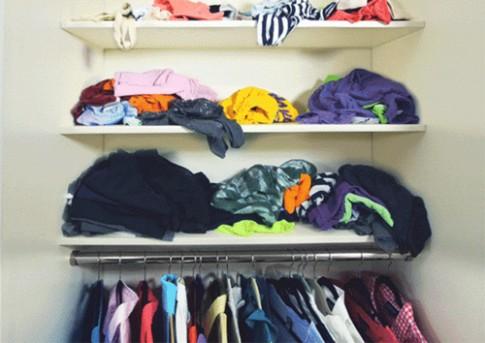 Cách gập đồ thông minh giúp tủ quần áo không bao giờ lộn xộn