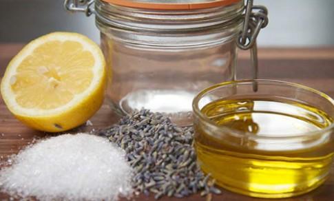 Cách làm kem tẩy tế bào chết đơn giản từ chanh với muối