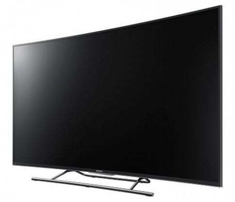 Độc đáo TV 4K Android màn hình cong của Sony