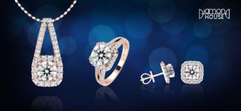DOJI ưu đãi trang sức kim cương dịp sinh nhật