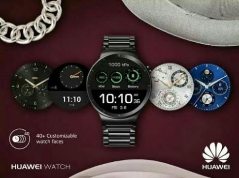 IFA 2015: Huawei giới thiệu đồng hồ thông minh thời thượng