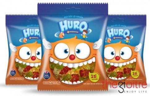 Kẹo dẻo lợi khuẩn lần đầu tiên có mặt tại thị trường