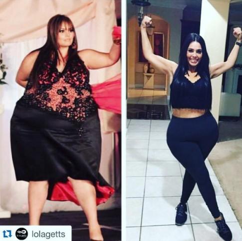 Kỳ tích giảm béo của người mẫu có vòng mông 1,7m