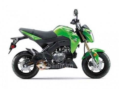 Lộ ảnh Kawasaki Z125 phiên bản Mỹ với nhiều khác biệt