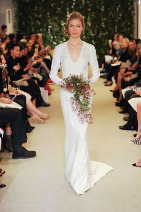Mê mẩn với váy cưới tao nhã của Carolina Herrera