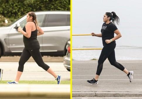 Nàng béo giảm thành công 15kg sau vài tháng chạy bộ