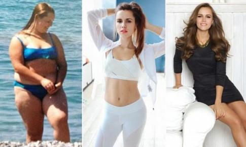 Nàng béo nước Nga xinh đẹp bất ngờ sau khi giảm 60 kg