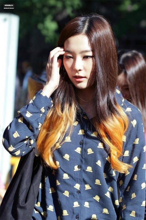 Những mái tóc như món kem ngọt cực thú vị của sao Hàn