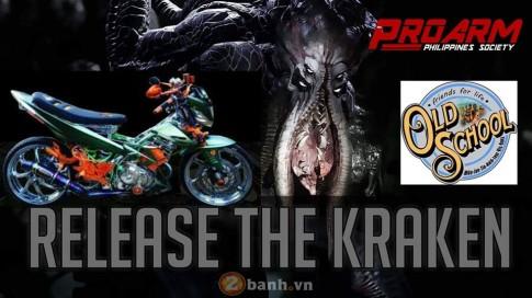 Raider 150 Kraken - quái vật đầy màu sắc